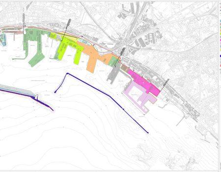 Planimetria Porto di Napoli